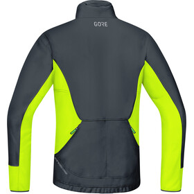 GORE WEAR C5 Gore Windstopper Thermo Trail Giacca Uomo, black/neon yellow